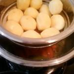 Aardappelen stomen